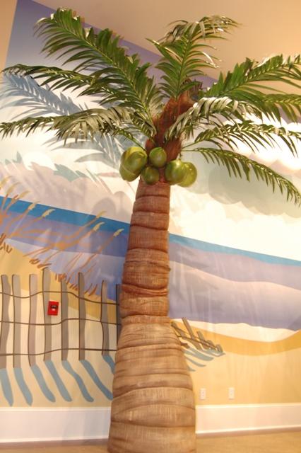 Faux Palm Tree Prop
