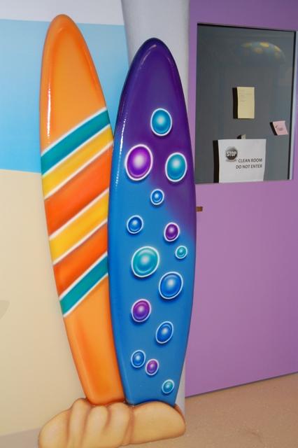 Faux Surf Boards