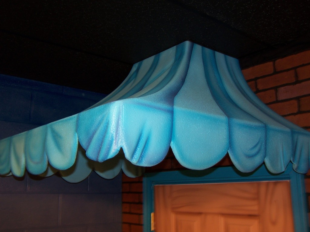 faux awning