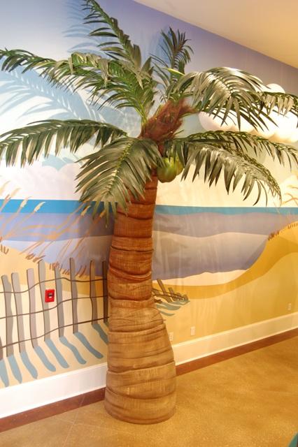 palm tree prop