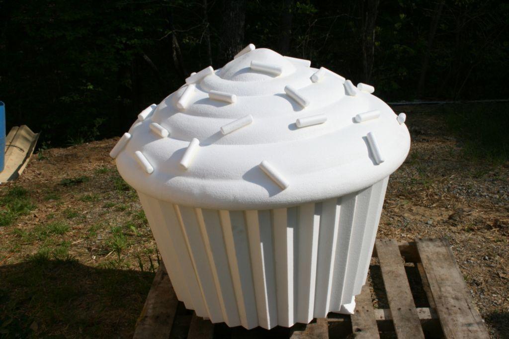 cup  cake prop