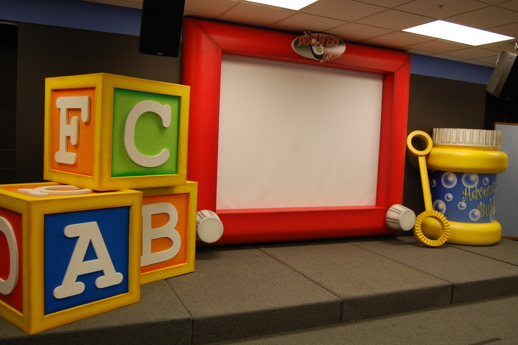 toy stage set