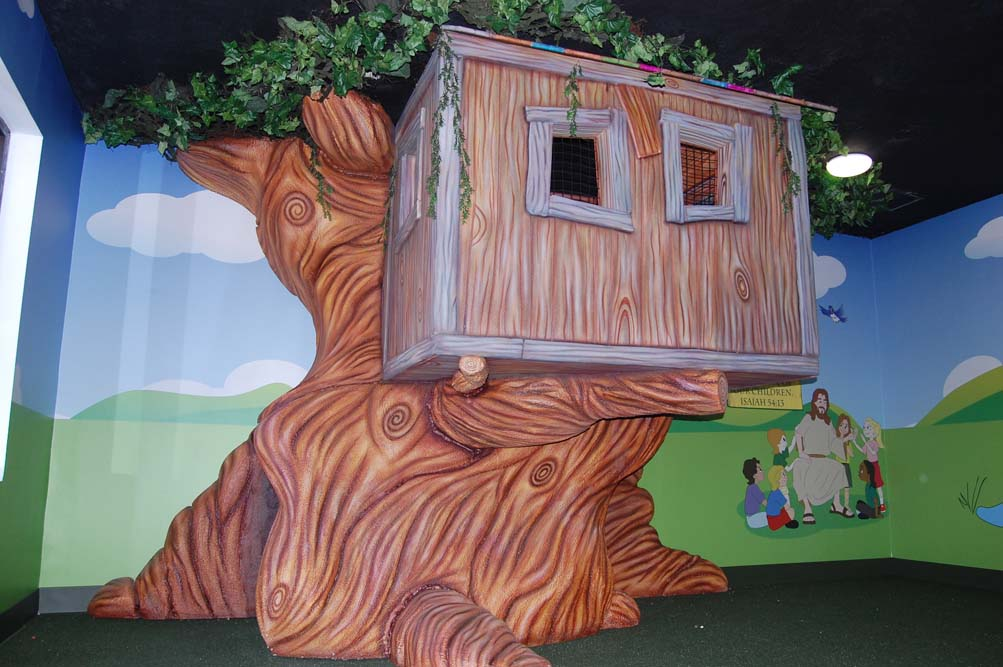 Children's Play Tree House