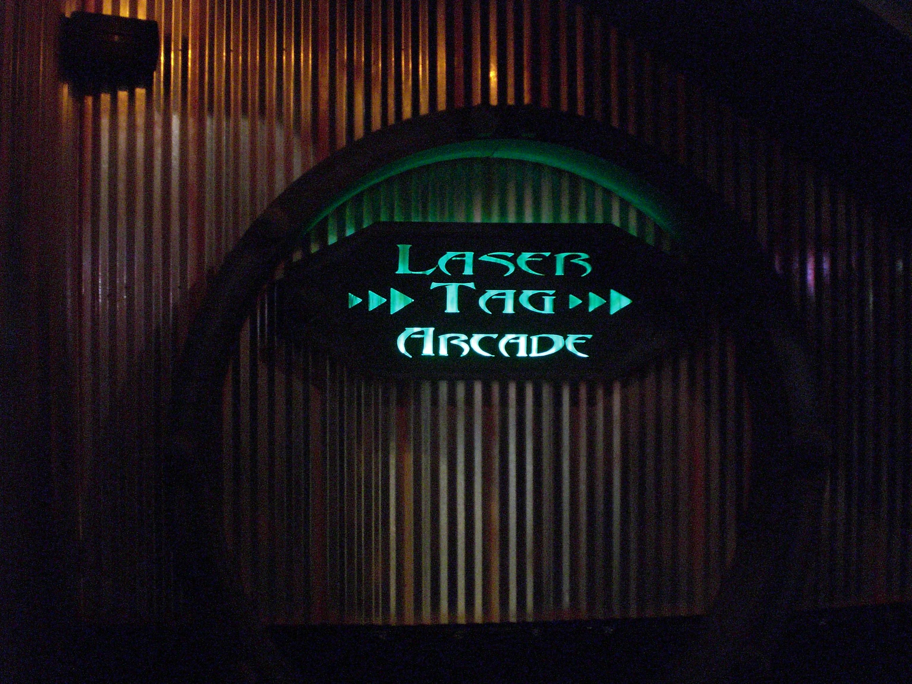 Laser Tag Sign