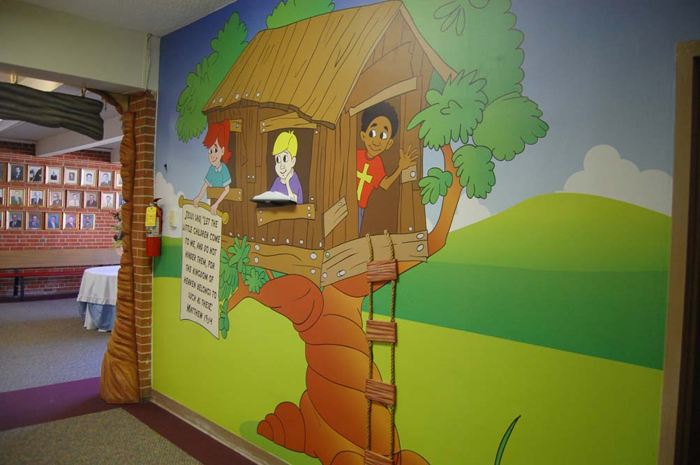 Tree House Wall Mural