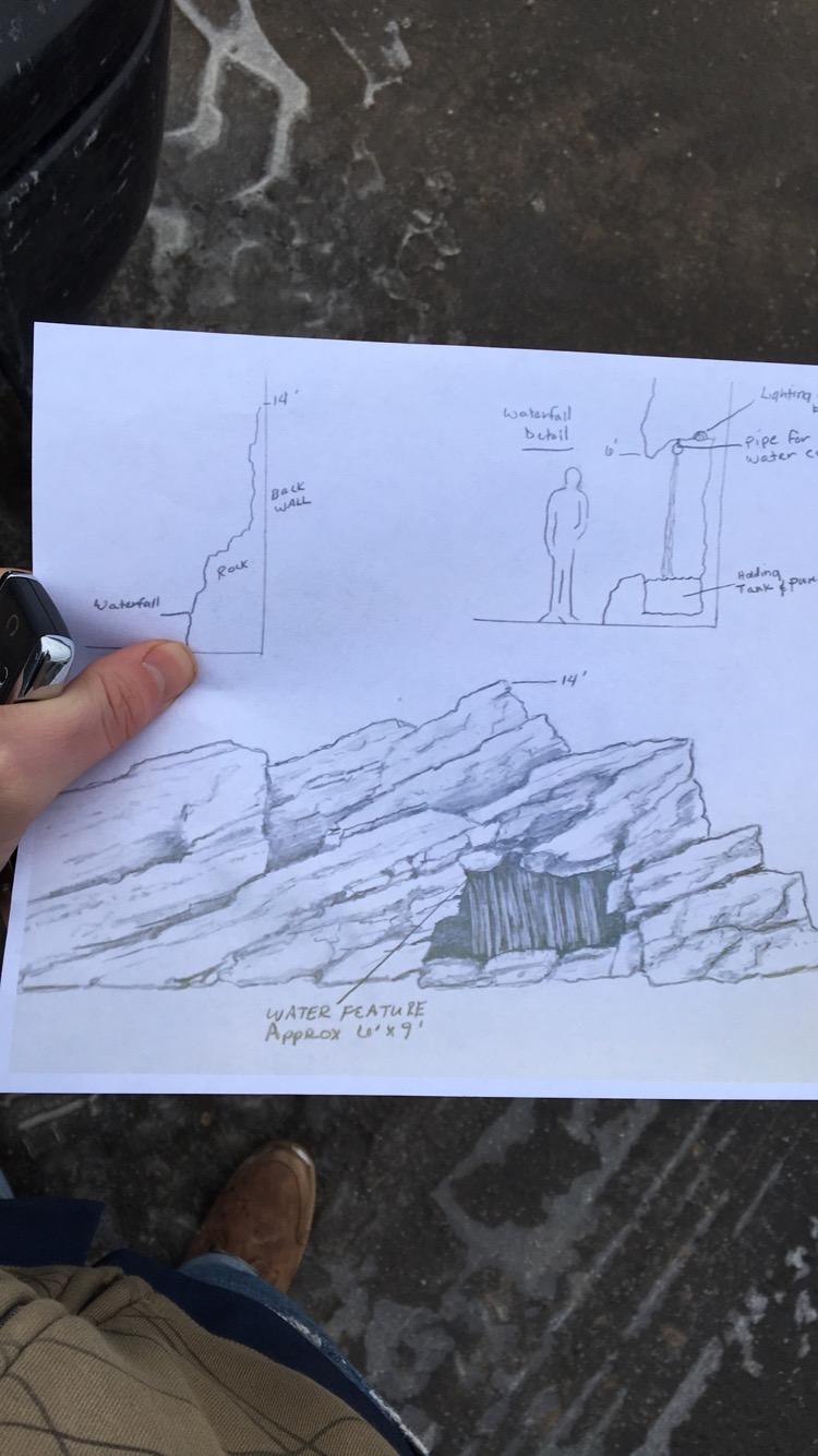 Rock Wall Concept Art